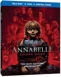 """Evil Cannot Be Contained When """"Annabelle Comes Home"""" On Blu-ray Combo Pack & DVD October Cannot Be Contained When """"Annabelle Comes Home"""" On Blu-ray Combo Pack & DVD October 8 - Irish Film Critic Lorraine Warren, Madison Iseman, Patrick Wilson, Vera Farmiga, Free Movie Downloads, Very Scary, Light Of My Life, Horror Movies"""