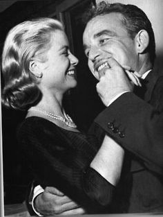Princess of Monaco, Grace Kelly  & Prince Rainier III dancing