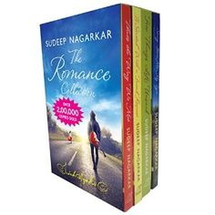 The Romance Collection Set of 4 Books By Sudeep Nagarkar @ Rs 300
