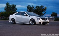 CTS-V2 Racing by WEAPON-X Motorsports — Weld RTS S71 17 Rear Drag Rims for CTS V 2009+ Coupe, Sedan, Wagon