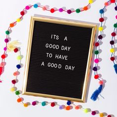 It's a good day to have a good day and DIY your own letter board.
