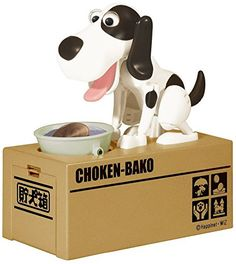 Digital Coin Box Dog Eating Stealing Piggy Bank Puppy Coin Box Plastic Kids Bank Money Automated Saving Box Tirelire Enfant - Black and White -- Awesome products selected by Anna Churchill Money Saving Box, Money Box, Christmas Gifts For Girlfriend, Great Christmas Gifts, Christmas 2016, Merry Christmas, Holiday Gifts, Lifehacks, Cute Puppies