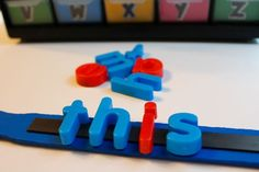 Use a paint stir stick for word work during small group reading!