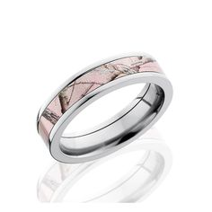 5mm Titanium Pink Camo Wedding Band,Camouflage Ring,Army Ring,Pink Titanium Band,His,Hers,Personalized Titanium Wedding Ring, Mens Camo Band by DeluxeBands on Etsy https://www.etsy.com/listing/216271309/5mm-titanium-pink-camo-wedding