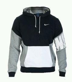 sweater black white pullover menswear nike nike sweater