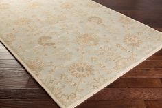 Elegance, sophistication, and grace are just a few words that define the radiant rugs found within the flawless Caesar collection by Surya. Hand Tufted in 100% wool, the timelessness found within each of these perfect pieces embodies a classic charm that has been revered for generations, and that will truly emanate a sense of warmth from room to room within any home decor.