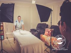 Awesome photo and video session with Michael and his beautiful wife Tanya! I think we have officially coined Michael as being 'Mr Smiley' :)  If your a Massage Therapist and want to Join Therapair head to www.therapair.co/join