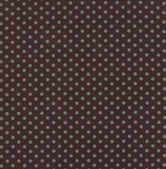 Moda Laundry Basket Quilts Hearts Content Floral Reproduction Poke Dot Chocolate Brown