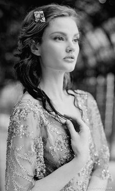 Wedding Bridal Hairstyle // Bijou Details //Enchanted Atelier by Liv Hart Fall 2016 Bridal Accessories | Wedding Inspirasi