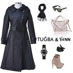Tuğba & Venn '12-'13 Sonbahar/Kış. Hijab. #hijab #coat #scarf #tugba #fashion#women
