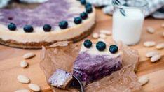 Cheesecake s borůvkami a špaldovým korpusem Foto: Cheesecake, Sweet, Desserts, Food, Fresh, Candy, Tailgate Desserts, Deserts, Cheese Cakes