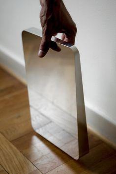 Daniel Rybakken / aluminium mirror