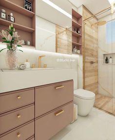 [New] The 10 Best Home Decor (with Pictures) - Finalizando a noite com esse banheiro super elegante Quirky Home Decor, Cheap Home Decor, Vintage Home Decor, Bathroom Design Small, Bathroom Interior Design, Grey And White Wallpaper, Bathroom Niche, Small Toilet, Studio Living