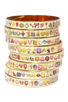 Pin for Later: Upgrade Your Jewellery Box With This Emoji Bling  Bijoux De…
