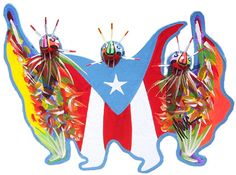 Vejigante Masks: A Puerto Rican Tradition http://caribbeantrading.com/vejigante-masks-a-puerto-rican-tradition/