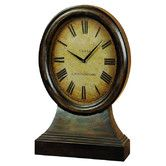 Found it at Wayfair - Urban Trends Wood Table Clock $70