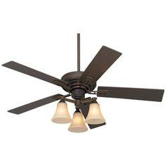"""52"""" Casa Coronado Oil-Rubbed Bronze Ceiling Fan"""