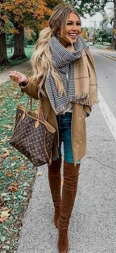 Fall ideas to winter fashion 2019 Scars Outfits Sweatshirt ideas How to wear jacket outfits what to wear fall fashion ideas cardigan outfits 2019 Fall style outfits womens nice clothes for womens sweater outfits 2019 What shoes to wear with boots Fashion Mode, Fall Fashion Outfits, Fall Fashion Trends, Fall Winter Outfits, Autumn Winter Fashion, Womens Fashion, Fashion Drug, Fashion Ideas, Autumn Casual
