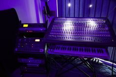 AE Project Studio's Midas Venice 32F Console + External Hardware Rack [click image to DLPs You-Tube Channel/ Audio Equipment]