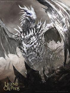 Diego de Almeida - Blue Eyes White Dragon - Legend Of Cryptids