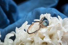 Engagement ring Teal sapphire ring Turquoise Blue Green sapphire ring Blue sapphire engagement ring. #wedding #weddinginspiration