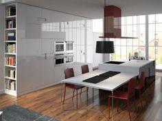 Double hauteur plan de travail la cuisine pinterest mezzanine