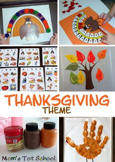 Thanksgiving Crafts and Activities!