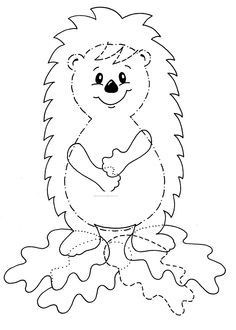 Colorir animais da floresta é maravilhoso? Coloring forest animals is wonderful? Easy Fall Crafts, Halloween Crafts For Kids, Kids Crafts, Diy And Crafts, Hedgehog Craft, Free To Use Images, Autumn Art, Autumn Activities, Forest Animals