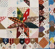 Civil War Quilts: Stars in a Time Warp 42: Sprigged Muslins & Indiennes