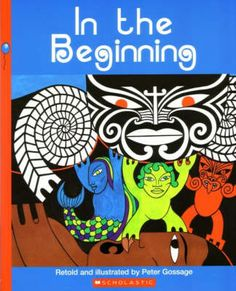 The creation myth of Maori legend is simply told in Peter's stunning, illustrative style. Bold design and brief text introduce the struggle of the children of Rangi and Papa as they try to part their parents and bring light to the world.