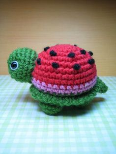 Susie Farmgirl: Watermelon turtle ~ Inspiration