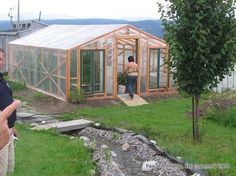 How to Build your Own Greenhouse - Greenhouse Plan - Hydroponic Greenhouse