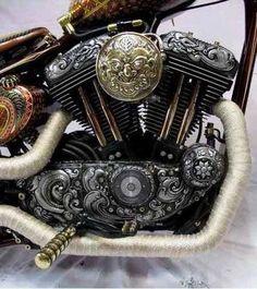 custom engraved sportster #motorcycle #motorbike