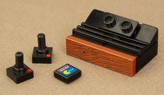 2600 Console - Custom Lego minifig accessory.