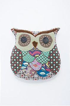 Mabel Owl Cushion