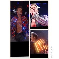 Over the past few years the  #JerichoLightedJacket has become part of my legacy and if u wanna know the whole story of how they came to be, then check out episode 31 of #TalkIsJericho NOW!  Hear the inside info from their creator #JonathanLogan of how we came up with the concept, the intricate technology that make them work, how Jonathan repairs them when they malfunction and the other amazing creations Jonathan has designed for #DavidLeeRoth, #JustinBeiber, #AliciaKeys, #BradPitt, #NicCage…