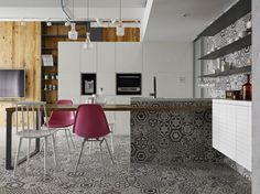 Hu Residence - Picture gallery #architecture #interiordesign #tiles #kitchen