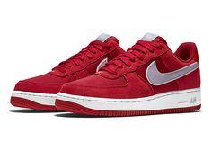 NIKE AIR FORCE 1 LOW (GYM RED/WOLF GREY) - Sneaker Freaker