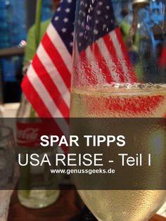 mehr Taschengeld zum Shoppen! Einfache aber sinnvolle Tipps zum Sparen beim USA Urlaub. T