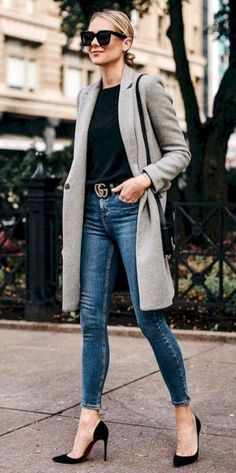 63 Casual Fall Work Outfits Ideas 2018 Casual work for autumn work 2018 24 Fall Outfits For Work, Casual Work Outfits, Mode Outfits, Work Casual, Casual Fall, Casual Chic, Fashion Outfits, Classy Chic, Classy Outfits