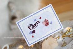Hochzeitskarte Fingerprint