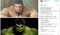 O EMPENHO: 'Hulk iraniano' se junta ao Exército sírio contra ...