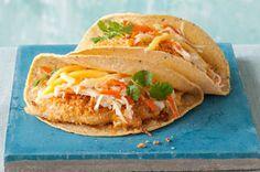 Crispy Chicken Tacos Recipe - Healthy Living Kraft Recipes