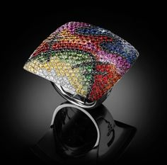 ART COLLECTION HOMAGE TO KANDINSKY RING