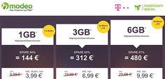 6GB LTE Telekom Internet Flat für 9,99€ http://www.simdealz.de/datentarif/mobilcom-debitel-internet-flat-lte-6000/