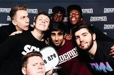 All these sidemen pins are just simon