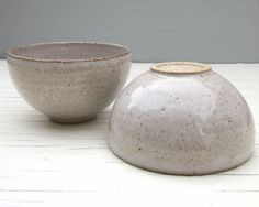 made to order wheel thrown pottery 2 small ice by JDWolfePottery