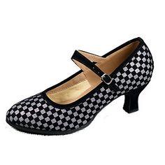 Moderne Talons Hauts en Classique Tango Salon Country pour Femmes Fille Chaussures de Danse Latine Standard