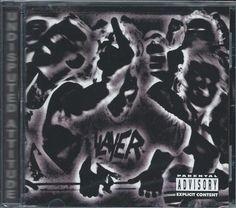 Slayer Undisputed Attitude CD 2002 American Recordings USA Metal New #undefined #ThrashSpeedMetal