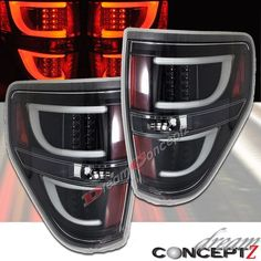 LED Tail lights for 2009-2014 F150 Pickup Truck Clear Lens Black style Pair in eBay Motors, Parts & Accessories, Car & Truck Parts | eBay